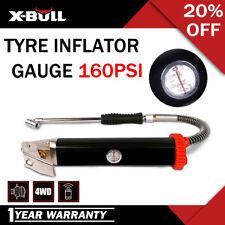X-BULL Tyre Inflator Gauge/Inflator Tire gun 160PSI High Flow Heavy Auto Car
