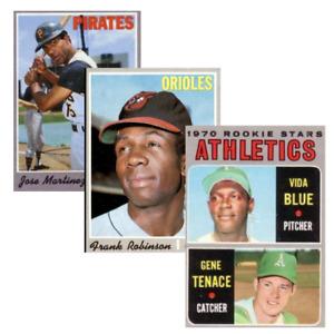 COMPLETE YOUR SET! ~ 1970 Topps Baseball Set Break ~ Choose Cards #1-250