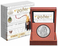 2021 Niue Harry Potter Classics Hermione Granger 1 oz Silver Proof $2 Coin OGP