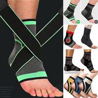 Compression Ankle Support Strap Plantar Fasciitis Brace Running Sports Sleeve LK