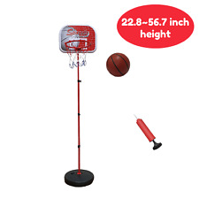 Macro Giant Portable Basketball Hoop Stand, with 1 Inflatable Ball