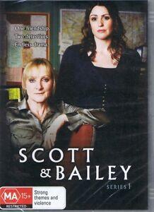 SCOTT & BAILEY Series 1 (2 x DVD) NEW & SEALED Free Post