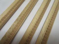 7.7m Short Offcuts Unfinished Decorative Wooden Picture Frame Fillet Moulding