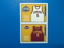 2015-16 Panini NBA Sticker Collection n. 92-93 Jersey Cleveland Cavaliers