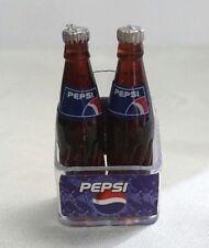 2 Big Bottles Pepsi Cola Dollhouse Miniatures Refrigerator Magnet Collectibles