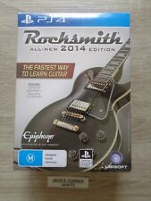 Rocksmith  All-New 2014 Edition + Real Tone Cable  PS4 Game - NEW & SEALED