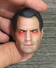 Custom 1/6 Scale Henry Cavill Superman 2 Vein Ver. Head Sculpt For Hot Toys Body