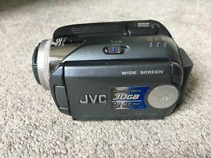 JVC 30 GB Camcorder - Grey (GZ-MG36E/EK) Everio
