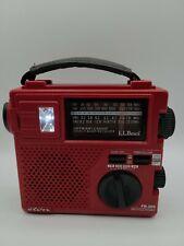 Eton LL Bean FR-200 Crank or Battery Power AM FM Shortwave Radio tested working