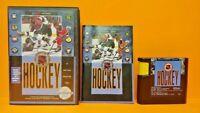 NHL 92 Hockey - Sega Genesis Rare Game Tested Box Best Hockey Game Ever ! 1992