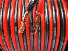5 Ft 12 Gauge Speaker Cable Car Home Audio 5' Black & Red Zip Wire