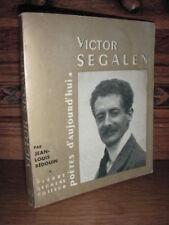 SEGHERS / POETES D'AUJOURD'HUI / VICTOR SEGALEN  / 1963