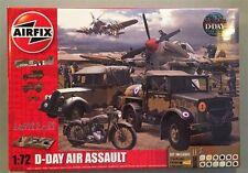 Airfix 1:72 D-Day Air Assault Plastic Model Kit #A50157