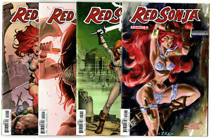 Red Sonja #19-25 (2018) Dynamite VF/NM to NM Plus Variants & Halloween Special