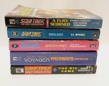 More details for star trek books job lot, the next generation, deep space nine, voyager book x 5
