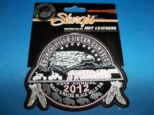 STURGIS RALLY 2012 PINK OFFICIAL BLACK HILLS MOTOR CLASSIC EMBROIDERED PATCH NEW