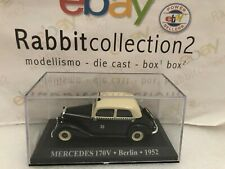 "DIE CAST "" MERCEDES 170V BERLIN 1952 "" 1/43 TAXI SCALA 1/43"
