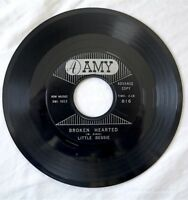 "Little Bessie BROKEN HEARTED / FOR YOUR LOVE 1961 7"" Amy 816 northern soul PROMO"