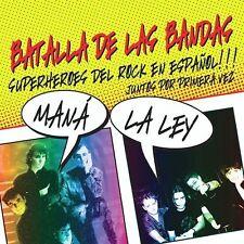 Mana,Mana,La Ley : Batalla De Las Bandas CD (2004)