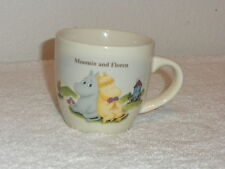 THE STORY OF MOOMINVALLEY MOOMIN AND FLOREN CUP-PLEASE READ DISCRIPTION