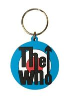 WHO target 2011 - circular RUBBER KEYCHAIN official merchandise