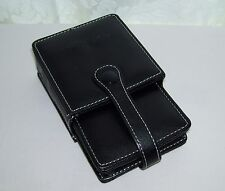 Genuine Nintendo DS . Black Synthetic Leather Padded Game Case / Sleeve ONLY
