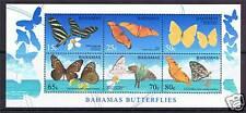 Bahamas 2008 Butterflies M.S. MNH