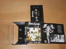 SACRILEGE B.C. - Party with God RARE TAPE ! CD LP DARK ANGEL SLAYER MORBID SAINT