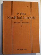 P. Mies-Música en clase I - 1926