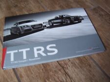 Catalogue  / Brochure AUDI TT RS 2009 //