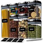 NEW 7pc Food Storage Container Pantry Organizer Airtight Kitchen Set