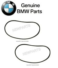 For BMW E53 00-06 X5 Pair Set of Rear Left & Right Door Seals Black Genuine
