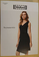 Wolford Asymmetric Dress Gr. 34/36/38/40 schwarz rot NEU 400 € OVP Viskosejersey