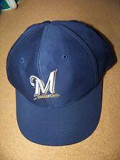 Milwaukee Brewers baseball cap hat adjustable MLB
