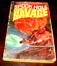 Doc Savage70 Spook Hole by Kenneth Robeson 1st Bantam edfition  1972