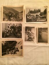 LOT De 6 PHOTOS ANCIENNES - VINTAGE SNAPSHOT - MOTO voir Photos