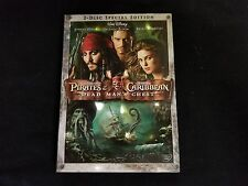 Pirate's Of The Caribbean Dead Man's Chest DVD