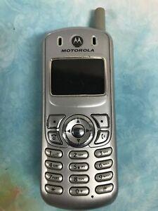 Motorola C series C343A - Silver (U.S. Cellular) Cellular Phone