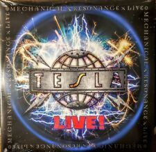 "TESLA -  LIVE -  2 LP SET "" NEW, SEALED ""   MECHANICAL RESONANCE"
