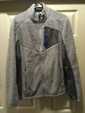 Men's Salomon Fleece Jacket Size Large  Silver/Grey Color