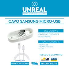 Samsung ECB-DU4EWE Cavo Dati Micro-USB 1,5m - Bianco