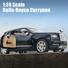 Rolls-Royce Currynan SUV 1:24 Diecast Model Car Toy Collection Light&Sound Gift