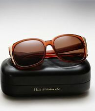 House Of Harlow 1960 Julie Sunglasses Brown Gold sides