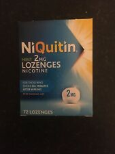 niquitin lozenges 2mg. 72 Pieces.