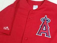 Vtg Majestic Athletic Apparel Large Anaheim Angels Baseball Jersey
