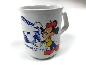 Vintage 1984 Walt Disney Mickey Mouse Coffee Mug Made In England