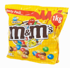1 Kg M&M's Chocolate Covered Peanuts Party Size m&ms M&M's Nuts