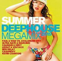 SUMMER DEEPHOUSE MEGAMIX 2019  2 CD NEU