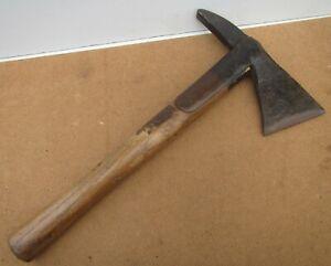 Vintage Fireman's Strapped  Hand Axe Hatchet Tool - 2lb 9oz