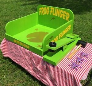 Frog Flinger Carnival Game. Perfect for Trade Show, Rental, Birthday, Church